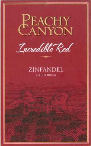 2017 Peachy Canyon Incredible Red Zinfandel
