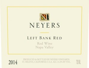 2014 Neyers Left Bank Red Neyers Ranch