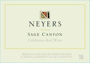 2015 Neyers Sage Canyon California Red Blend