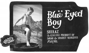 2016 Mollydooker Shiraz Blue Eyed Boy