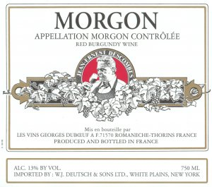 2014 Georges Duboeuf Morgon Jean-Ernest Descombes