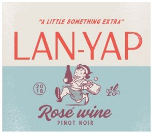 2018 Lan-Yap Rose of Pinot Noir 1.0 L