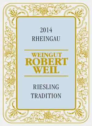 2014 Robert Weil Riesling Tradition
