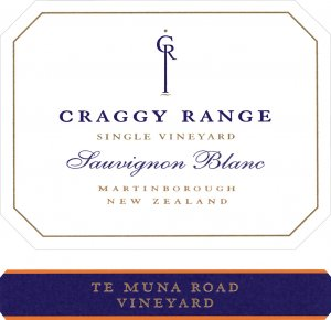 2015 Craggy Range Winery Sauvignon Blanc Te Muna Road Vineyard