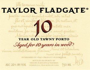 N.V. Taylor 10 Year Old Tawny Port