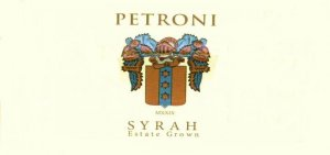 2014 Petroni Vineyards Syrah Estate Grown