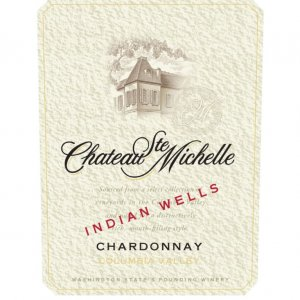 Chateau Ste. Michelle Chardonnay Indian Wells Vineyard