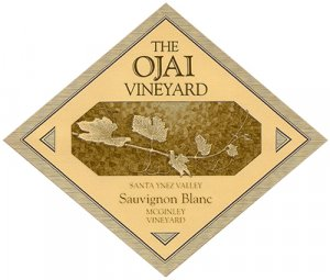 2018 Ojai Vineyard Sauvignon Blanc McGinley Vineyard