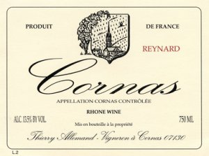 2014 Domaine Thierry Allemand Cornas Les Chaillots