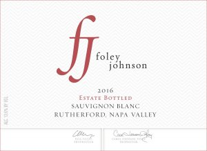2016 Foley Johnson Sauvignon Blanc