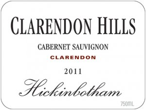 2008 Clarendon Hills Cabernet Sauvignon Hickinbotham Vineyard