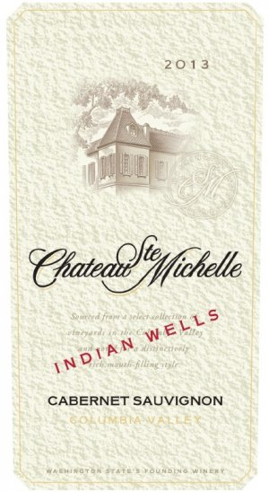 2013 Chateau Ste. Michelle Cabernet Sauvignon Indian Wells Vineyard