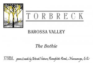 2014 Torbreck Muscat Blanc The Bothie 375 ml