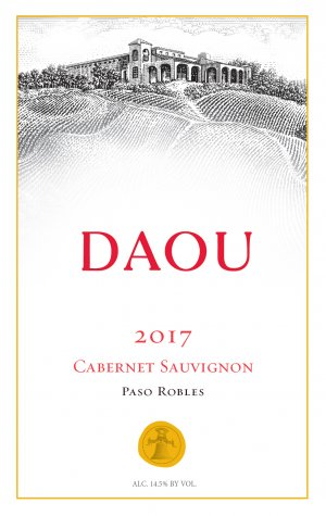 2017 Daou Vineyards Cabernet Sauvignon 375 ml