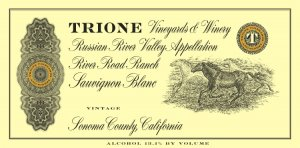 2019 Trione Sauvignon Blanc River Road Ranch