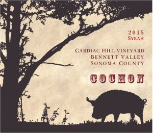 2015 Odisea Wine Company Cochon Syrah Cardiac Hill Vineyard