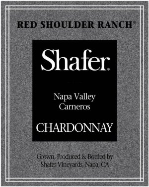 2018 Shafer Chardonnay Red Shoulder Ranch