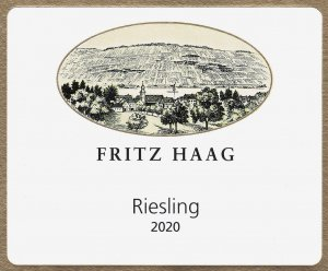 2018 Fritz Haag Riesling Estate