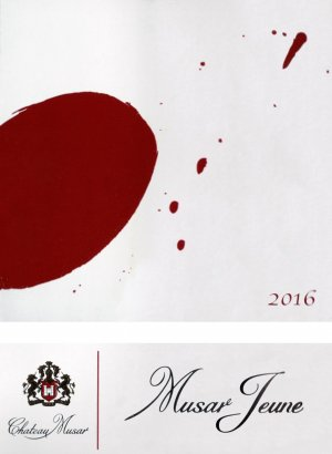 2016 Chateau Musar Musar Jeune Red Blend