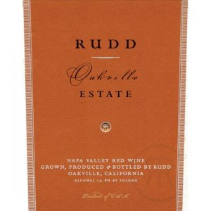 2012 Rudd Oakville Estate Proprietary Red Blend