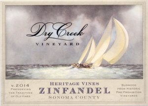 2014 Dry Creek Vineyard Zinfandel Heritage Vines