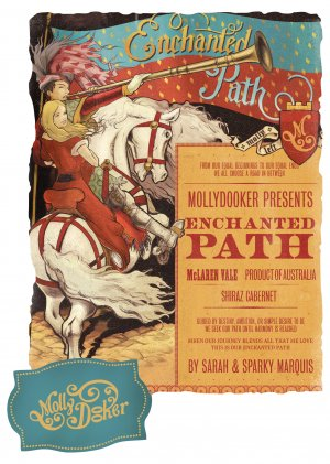 2014 Mollydooker Shiraz-Cabernet Sauvignon Enchanted Path