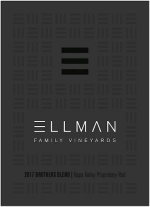 2017 Ellman Family Vineyards Proprietary Red Blend Brothers Blend