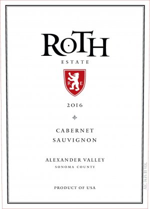 2016 Roth Estate Cabernet Sauvignon