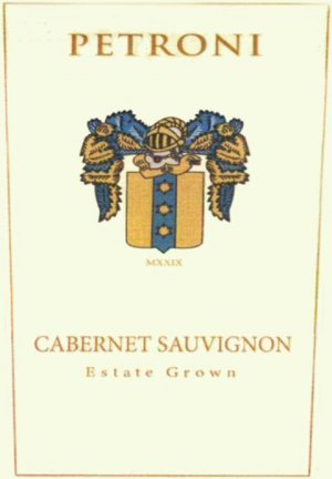 2014 Petroni Vineyards Cabernet Sauvignon Estate Grown