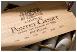 '08-'09-'10-'11-'12-'13 Chateau Pontet-Canet Assorted Vintage Gift Pack OWC