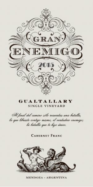 2015 Aleanna Gran Enemigo Cabernet Franc Gualtallary Single Vineyard