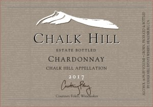 2017 Chalk Hill Chardonnay Estate