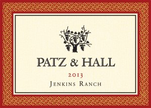 2013 Patz and Hall Pinot Noir Jenkins Ranch