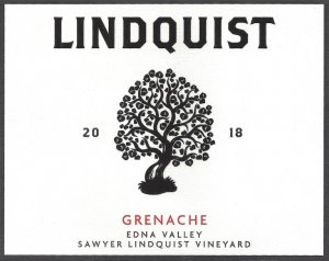 2018 Lindquist Family Grenache Sawyer Lindquist Vineyard