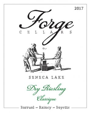 2017 Forge Cellars Riesling Seneca Lake Dry Classique