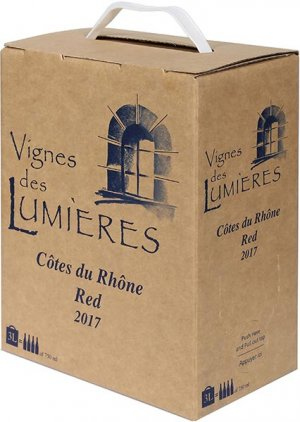 2018 Clos des Lumieres Cotes-du-Rhone Rouge Bag in Box 3.0 L