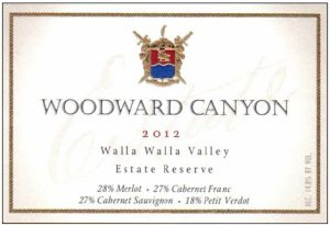 2012 Woodward Canyon Estate Reserve