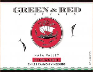 2017 Green & Red Zinfandel Chiles Canyon Vineyards