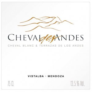 2004 Cheval des Andes Proprietary Red Blend 1.5 L
