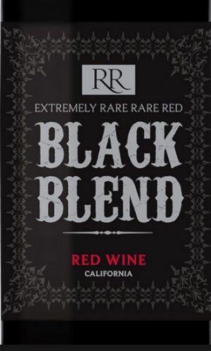 2016 Rare Black Califonia Red Blend