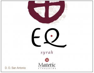 2011 Matetic Syrah EQ