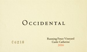 2016 Occidental Pinot Noir Running Fence Vineyard Cuvee Catherine