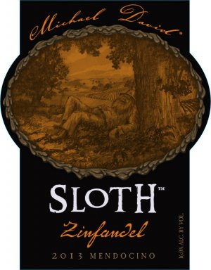 2013 Michael David Zinfandel Sloth