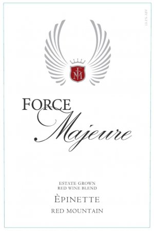 2017 Force Majeure Epinette Red Blend