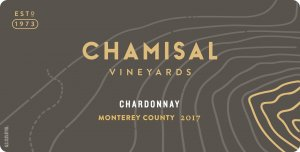 2017 Chamisal Vineyards Chardonnay Monterey