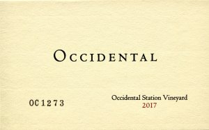 2017 Occidental Pinot Noir Occidental Station Vineyard