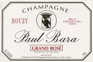 N.V. Paul Bara Reserve Brut Rose Grand Cru