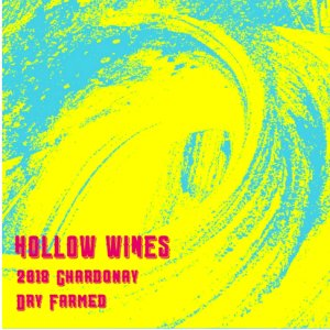2018 Hollow Wines Chardonnay Dry Farmed