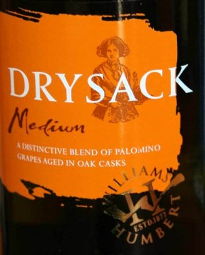 N.V. Williams and Humbert Dry Sack Medium Dry Sherry 1.0 L