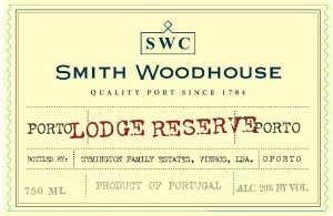 N.V. Smith Woodhouse Character Lodge Reserve Port